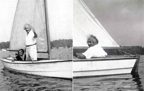 albert einstein loved sailing  didnt