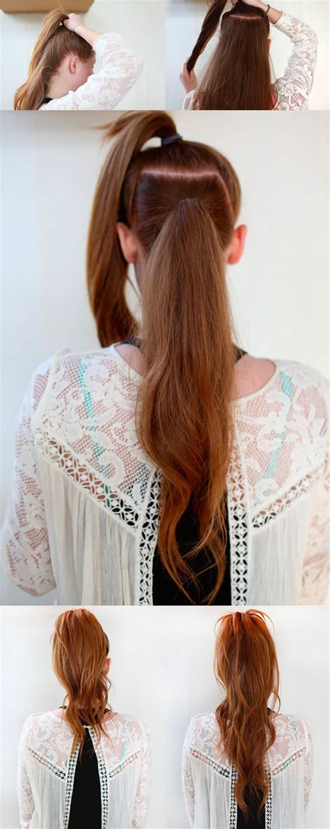 Easy Ponytail Hairstyles For by 20 Easy Hairstyles For Who Ve Got No Time 7 Is A