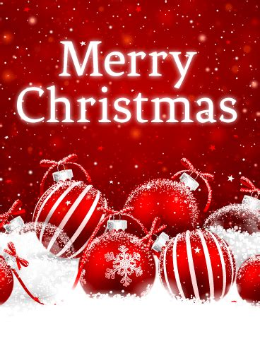 powder snow christmas card birthday greeting cards by davia