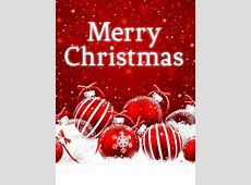 Powder Snow Christmas Card Birthday & Greeting Cards by