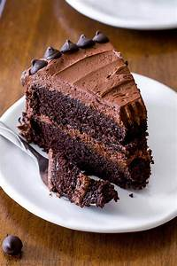 Triple Chocolate Layer Cake - Sallys Baking Addiction