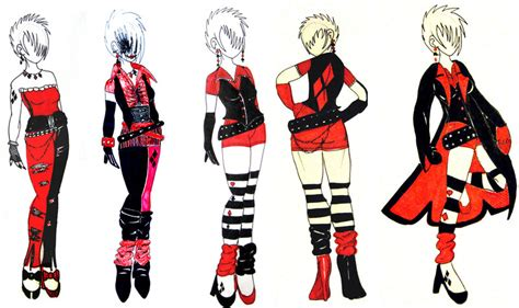 Harley Quinn Outfit Ideas by Keeji-d on DeviantArt
