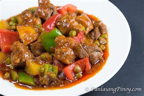 Pork Mechado Recipe  Panlasang Pinoy