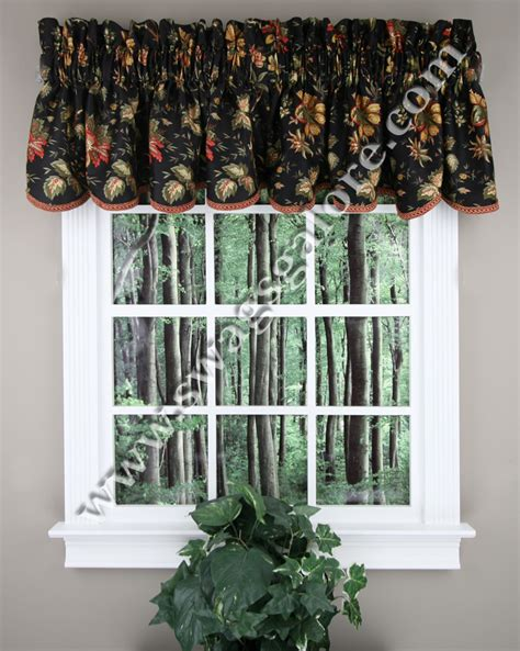 felicite valance black waverly waverly curtains
