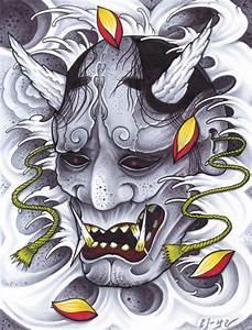Demon Japonais Dessin : japanese hannya tattoos origins meanings ideas tatring ~ Maxctalentgroup.com Avis de Voitures
