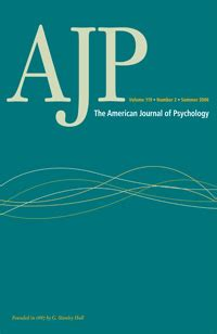 american journal  psychology wikipedia