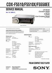 Sony Cdx F5710 Wiring Diagram
