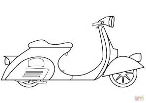 Scooter Coloring Page | www.pixshark.com - Images ...