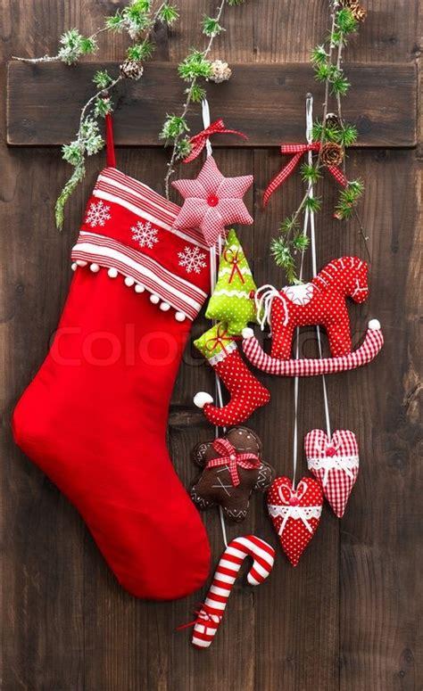 christmas decoration stocking  handmade toys