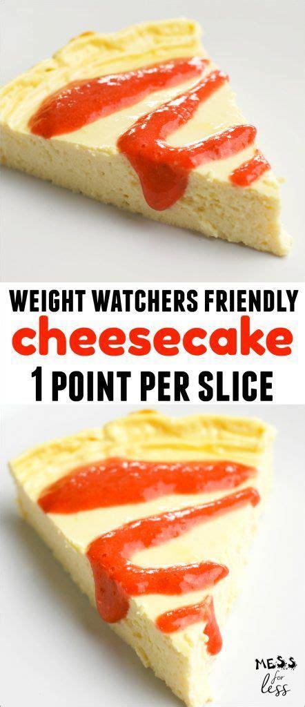 weight watchers cheesecake ideas  pinterest