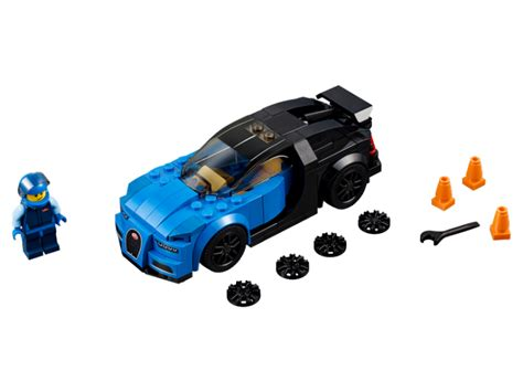 Frequent special offers and discounts up to 70% off for all products! LEGO Speed Champions Bugatti Chiron 75878 | veselekostky.cz