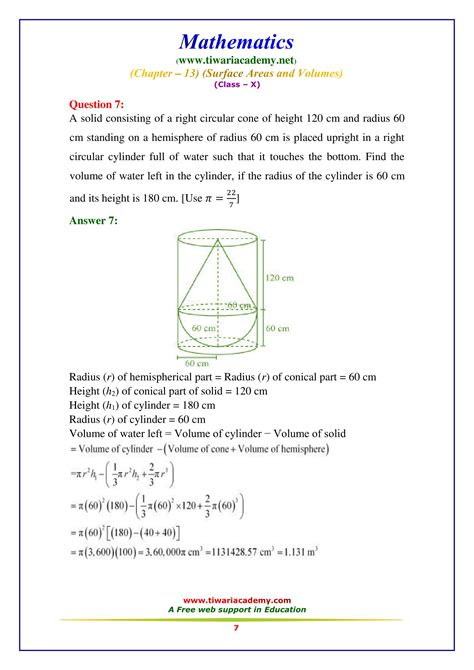 ncert solutions for class 10 maths chapter 13 exercise 13