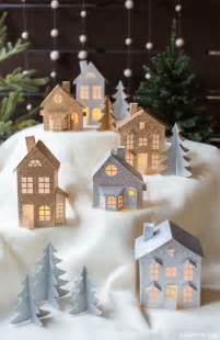 winter centerpieces 45 wonderful paper and cardboard diy christmas decorations