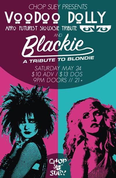 Voodoo Dolly  Blackie (a Tribute To Blondie) Tickets
