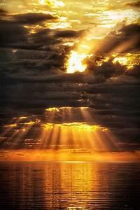 Breathtaking, Sun, Rays, Photography