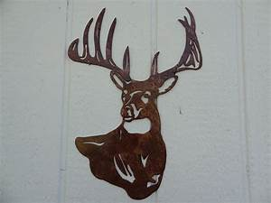 Metal deer wall art images
