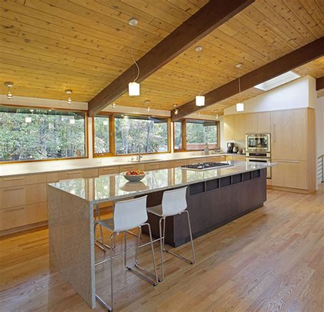 House Kitchen Breakfast Room And Deck kitchen island breakfast table deck house renovation in