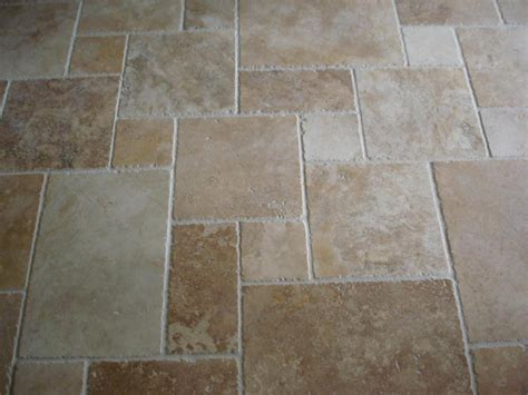 Simple Unorganized Travertine Tile Patterns Design Rustic