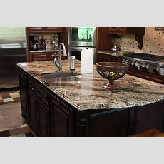 Granite Kitchen Counters And Island  Cnc Stonecrafters