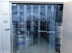walk in cooler curtains cooler and freezer doors akon curtain and dividers