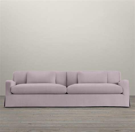 belgian slope arm sofa 7 39 belgian slope arm slipcovered two cushion sofa