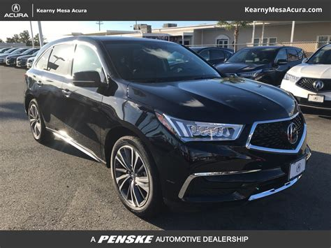 Kearny Acura by New 2019 Acura Mdx Sh Awd With Technology Package Suv In