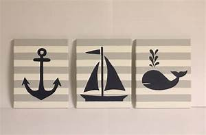 Wall decor nautical simple home decoration for Nautical wall art
