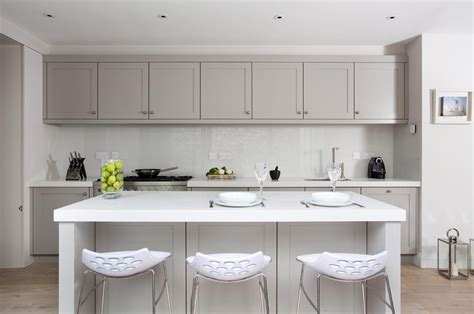 small white kitchen island bondi kitchens guide to choose cupboard door styles for
