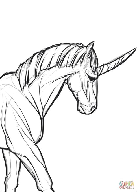 unicorn coloring page  printable coloring pages