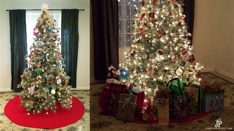 giant diy christmas tree skirt   sew tree skirt