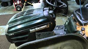 Mtd Yard Machine Tractor Part 1