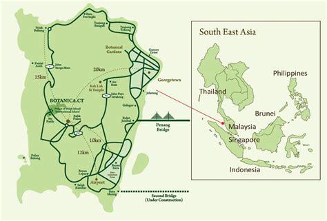 penang map penang property talk