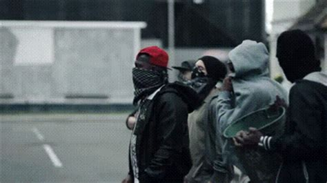 funny parallel universe hooligans cleaners gif