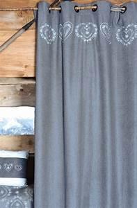 Rideaux Style Chalet : rideaux de montagne et chalet ~ Teatrodelosmanantiales.com Idées de Décoration