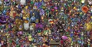 13000 Personajes De JRPG En Una Sola Imagen
