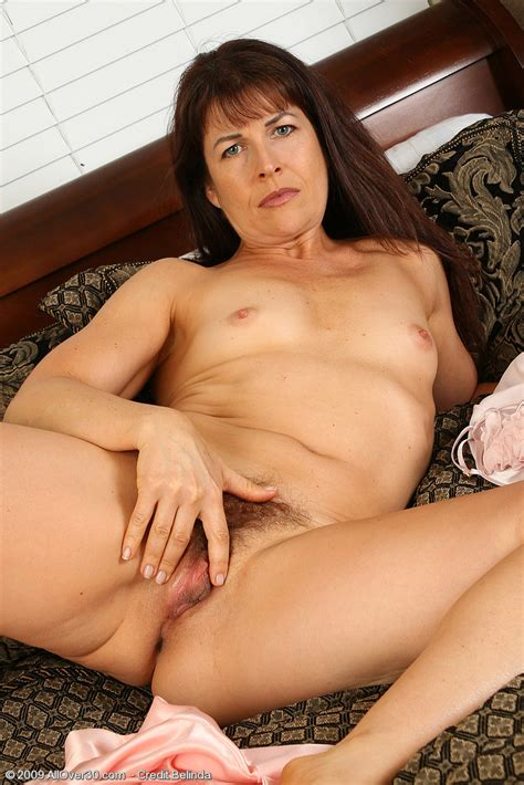 Brunette Milf Andie Spreads Her Moist Hairy Pussy Pichunter