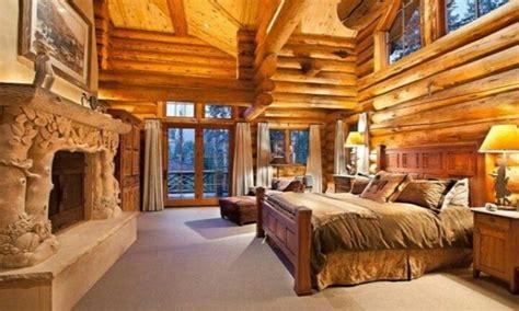 log cabin master bedroom log cabins  bedrooms log cabin style treesranchcom