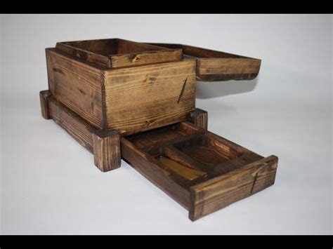 build  secret compartment box