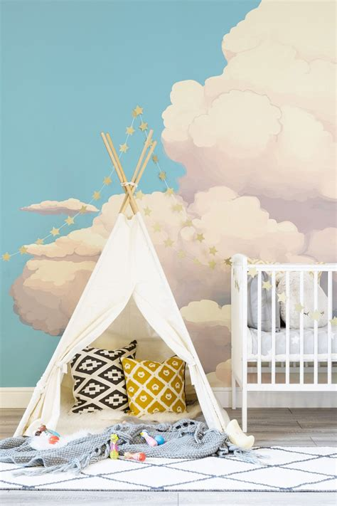 Kinderzimmer Ideen Wolken by Baby Und Kinderzimmer Deko Mit Wolken 15 Traumhafte Ideen