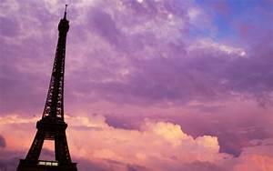 Paris purple pink sunset wallpaper | 1920x1200 | #21802