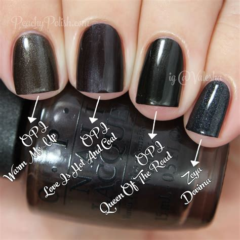love is hot and coal opi opi comparisons holiday 2014 gwen stefani collection