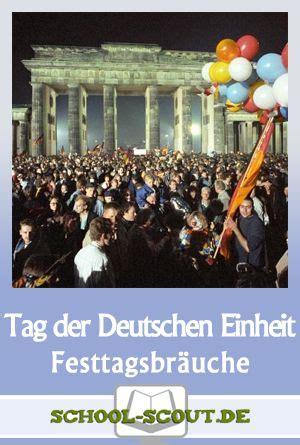 der tag der deutschen einheit warum ist der  oktober