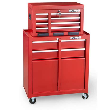 waterloo 6 drawer tool cabinet 2 pc rolling 6 drawer tool cabinet by waterloo 174 420790