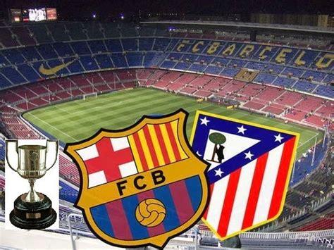 Alineación y la previa Barcelona-Atlético Madrid. Copa del Rey