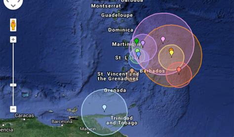 Carib Newsdesk Dem Waves by Earthquake Rattles Guyana And Caribbean
