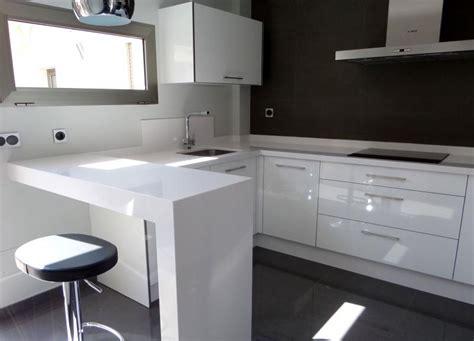 formica blanco brillo cocinas murcia