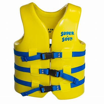Jacket Soft Adult Super Vest Swim Yellow