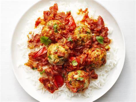 turkey meatball vindaloo recipe food network kitchen