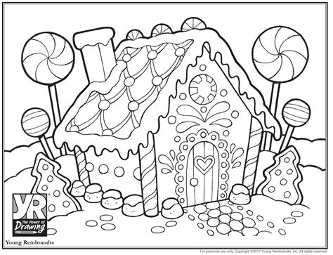 gingerbread house coloring page 3d gingerbread house coloring coloring pages