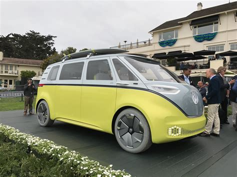 vw bus  coming cargo van hatchback  due